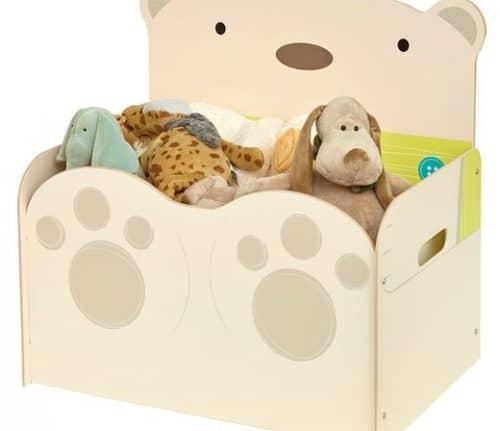 Spielzeugtruhe bear hug für kinder nur bei kinderspielewelt