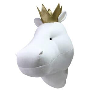Tierkoepfe Hippo