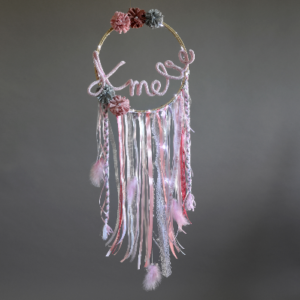 Traumfänger - Pink & Creme