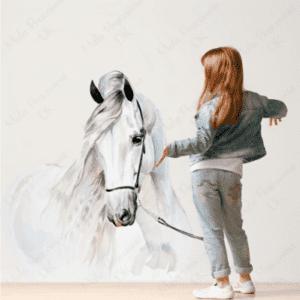 Wandsticker Pferd
