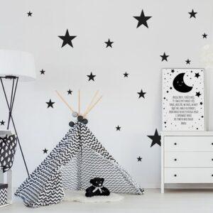 Wandsticker Sterne Komplett