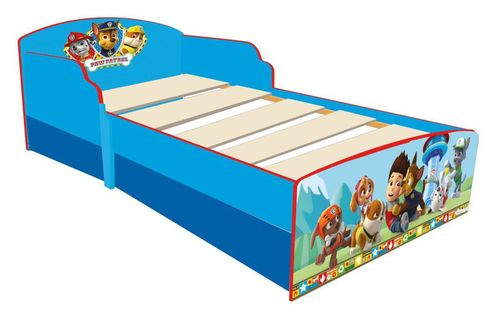 paw patrol bett mit euren lieblingen f r eine geruhsamen schlaf. Black Bedroom Furniture Sets. Home Design Ideas